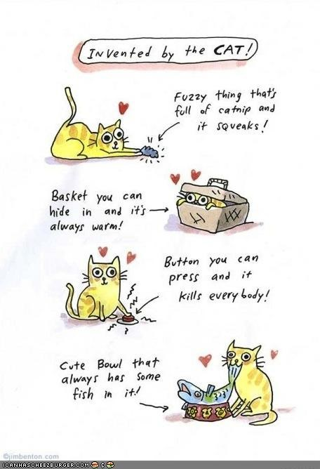 basket box button catnip drawing fish food invention kill toys warm - 4489158656