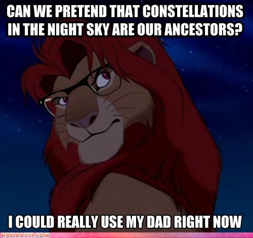 disney funny Hall of Fame hipster meme simba the lion king - 4489416704