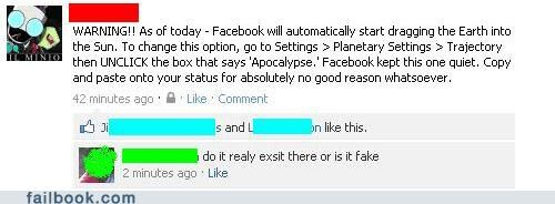 default settings,facepalm,lol,status update,stupid