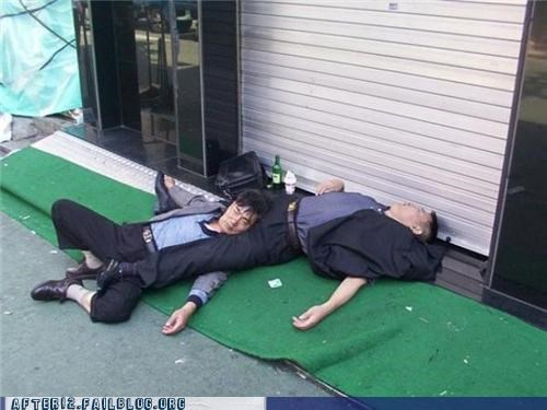 dogs,gallery,korean,outdoors,Party,passed out,streets