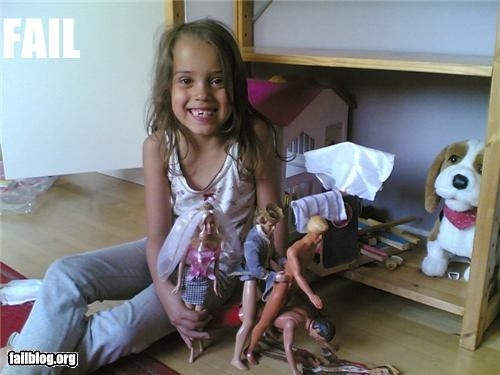 barbies dols failboat human centipede innuendo Things That Are Doing It - 4489935872