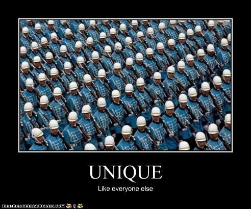 blue,marching,military,same thing,soldiers,unique