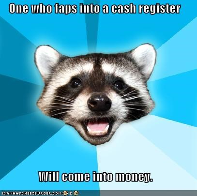 cash register Lame Pun Coon money - 4490935040