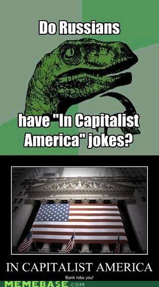 capitalist america,philosoraptor,Reframe,Soviet Russia