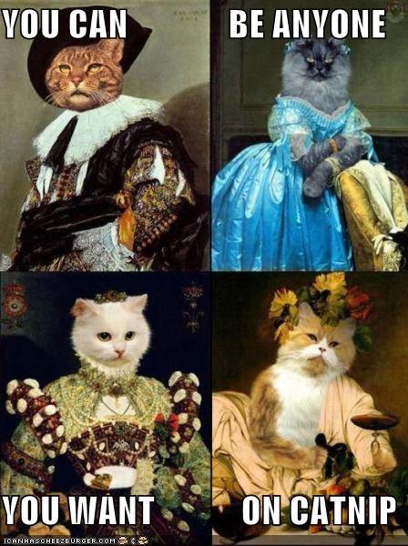 animals art catnip Cats funny painting wtf - 4491178752
