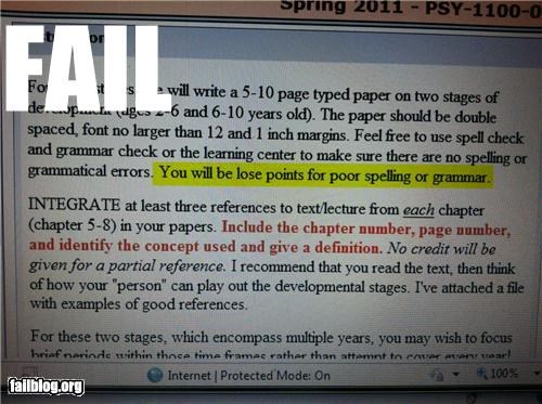 assignments failboat grammar g rated irony points spelling - 4491292672