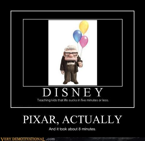 pixar,disney,Sad,8 minutes