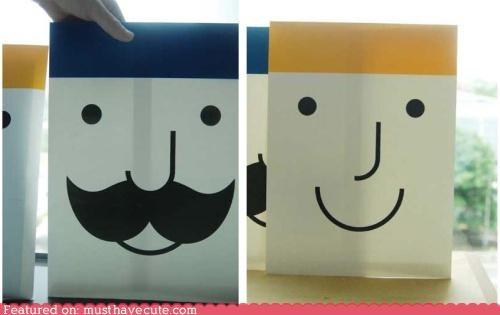 envelopes face Office smile stationary - 4491797504