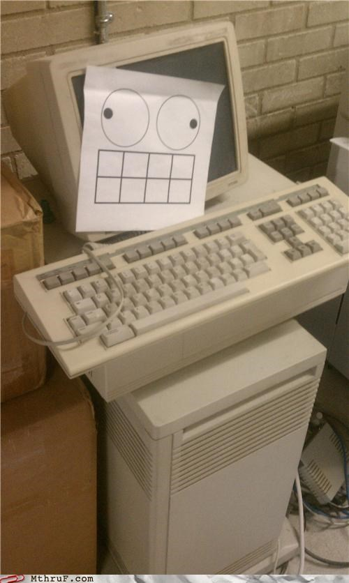 bender,futurama,keyboard,old computer