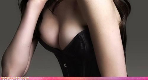 bewbs,celeb,cleavage,guess who,sexy