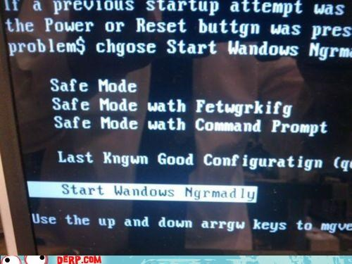 command prompt,derp,error,normally,seven,windows