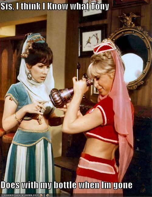 classic funny gross I Dream of Jeannie TV - 4492790016