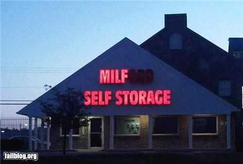 failboat,innuendo,milf,missing letters,signs,storage
