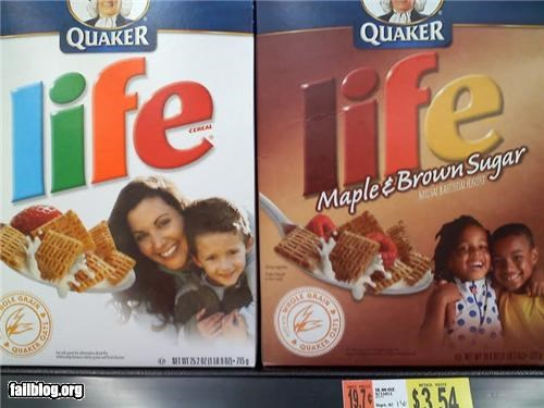 boxes cereal failboat g rated packaging poor planning racism - 4492796672