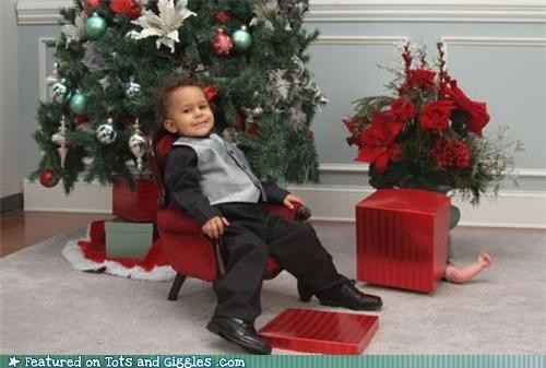 Babies christmas FAIL - 4493049344