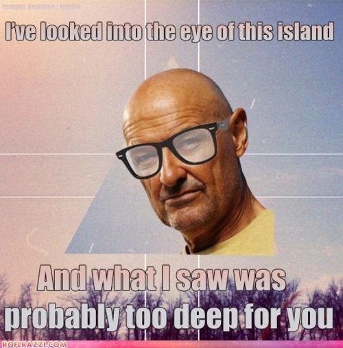 funny hipster john locke lost meme terry-oquinn - 4493093120