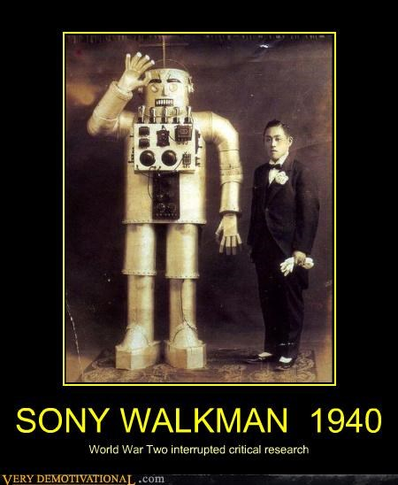 hilarious Japan research walkman technology - 4493157376