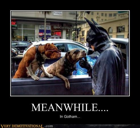 MEANWHILE.... In Gotham...