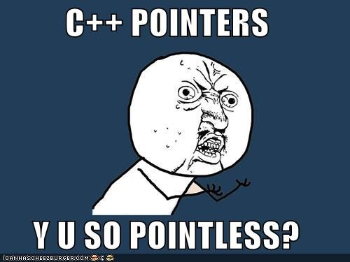 C Pointers Y U So Pointless Memebase Funny Memes