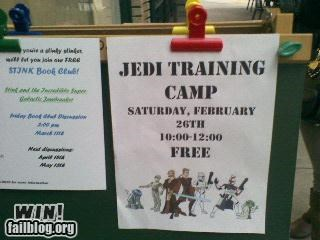 camp nerdgasm notes signs star wars - 4493941504