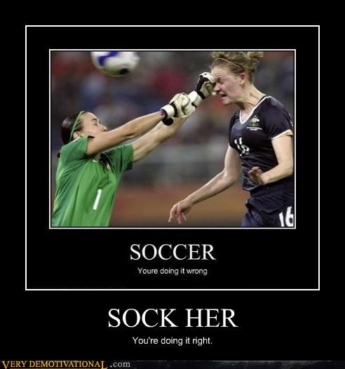 soccer,sock,face,punch