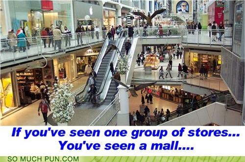 all,group,mall,seen,similar sounding,spoken,stores