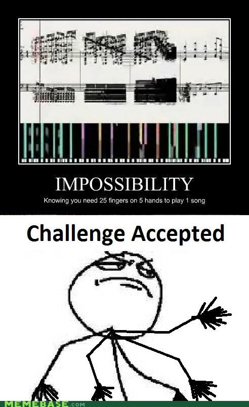Challenge Accepted,death waltz,Reframe,the fingers freak me out
