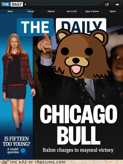 age of consent chicago fifteen mayor modeling pedobear - 4494586880