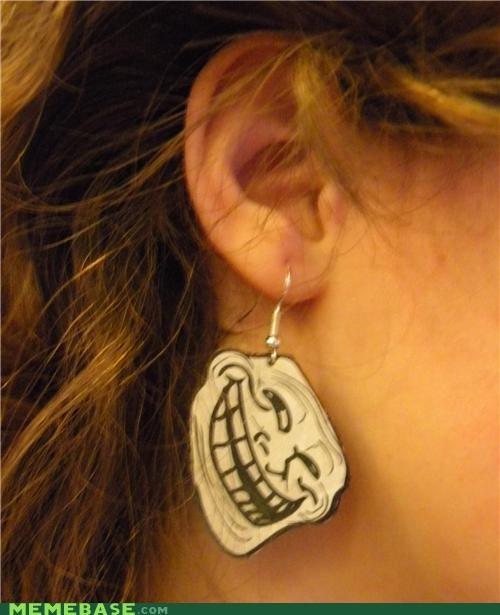 earrings The Internet IRL trolly - 4495228928