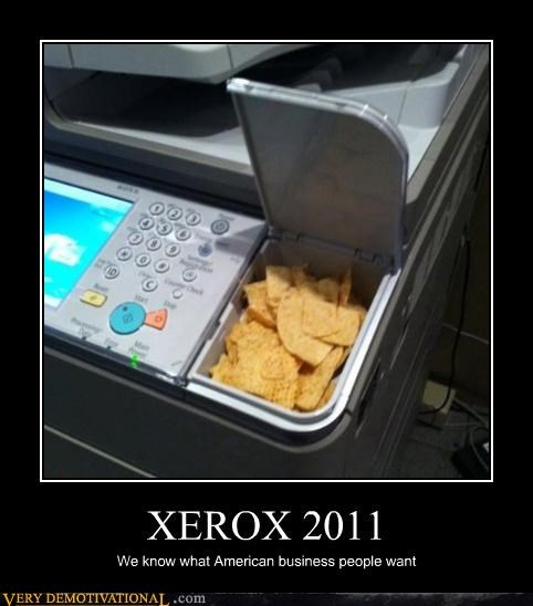 XEROX 2011 We know what American business people want