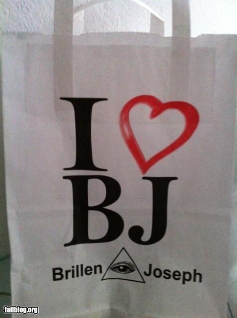 blow jobs failboat innuendo shopping shopping bags - 4495300096