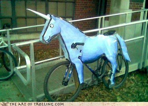 bike charlie i own a horse IRL unicorn - 4495362816