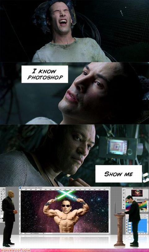 comic funny Hall of Fame keanu reeves panel shoop the matrix - 4495912192