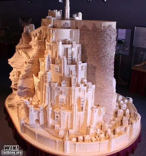 art,Lord of the Rings,matchsticks,nerdgasm