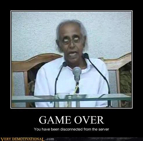 creepy,died,game over,real life,video game