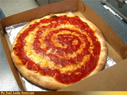 cheese pizza sauce spiral swirl - 4496285696