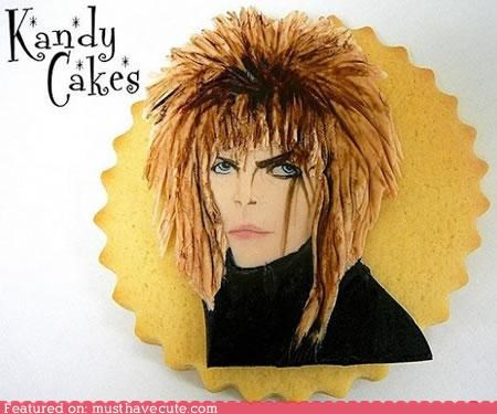 cookies,david bowie,epicute,jareth,labyrinth,shortbread