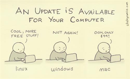 comics funny linux mac webcomics windows - 4496573952