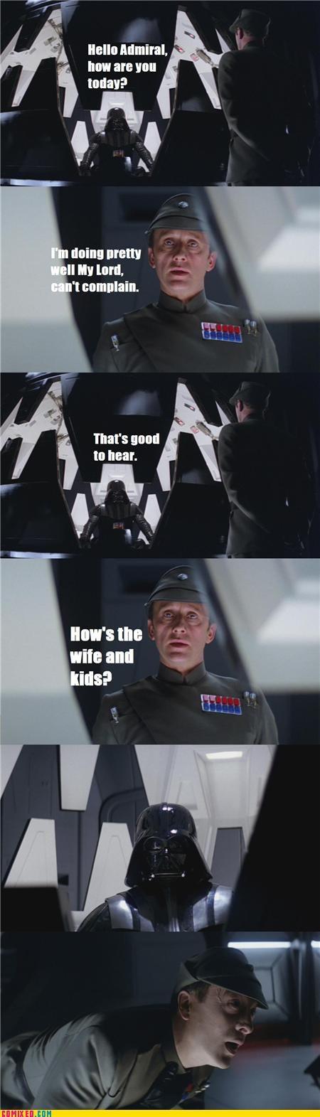 darth vader force choke forever alone star wars - 4497910784