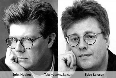 author,books,director,john hughes,movies,stieg larsson
