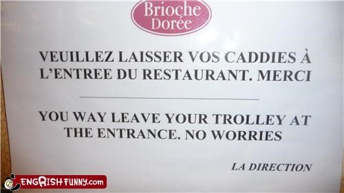 france,note,translation,trolley