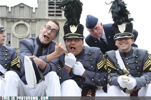 army disappoint photobomb uniforms - 4498563072