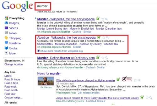 Googlebomb,Morning Links