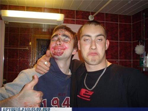 bathroom drunk face marker sharpie - 4498792192