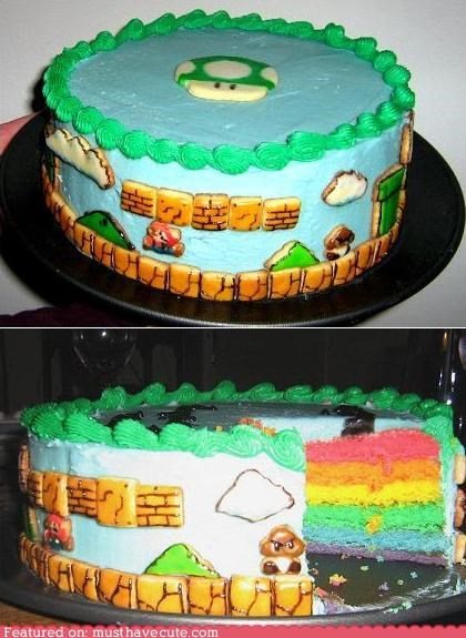 Strange Epicute Super Mario Birthday Cake Must Have Cool Cool Funny Birthday Cards Online Alyptdamsfinfo