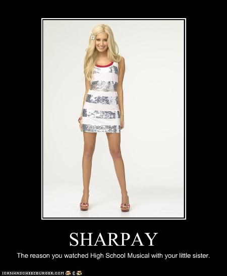 actor Ashley Tisdale celeb demotivational funny - 4499468800