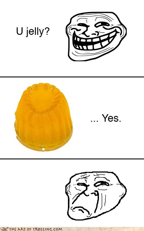 affirmative comic trollface u jelly u mad - 4499907584