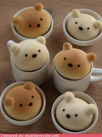 bears buns cups epicute faces - 4500690432