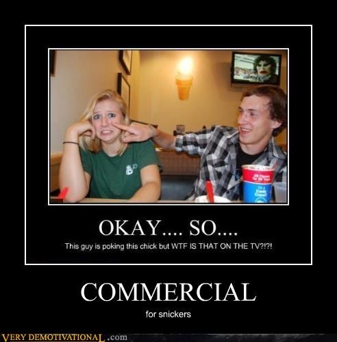 commercial,snickers,eww