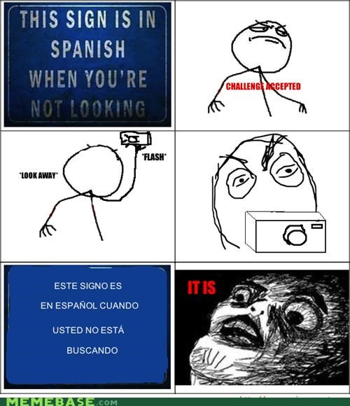 english not looking Rage Comics raisins-super-fuuuu sign spanish tricksy - 4501286400